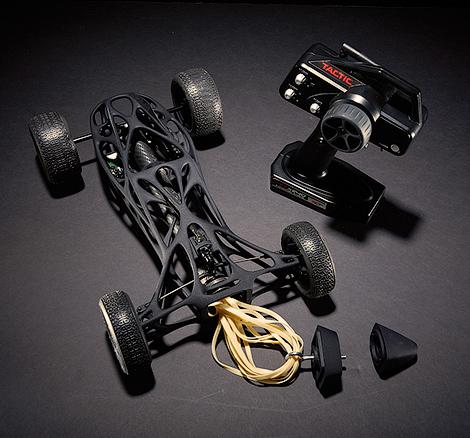 В США на 3D-принтере сделали карбоновую машину с резиномотором (фото) - фото 3