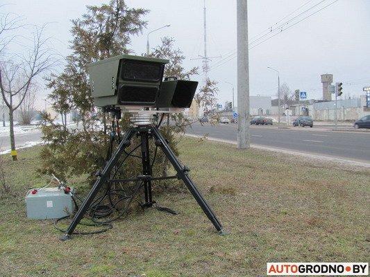 Фоторепортаж: мобильной камерой скорости в Гродно фиксируется по 230 нарушений, фото-1