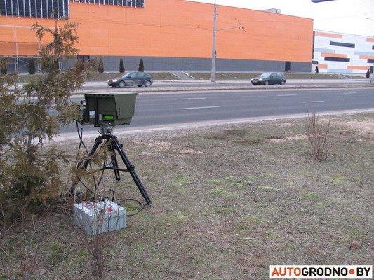 Фоторепортаж: мобильной камерой скорости в Гродно фиксируется по 230 нарушений, фото-12