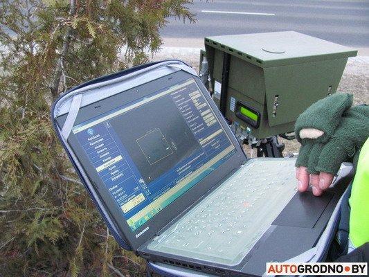 Фоторепортаж: мобильной камерой скорости в Гродно фиксируется по 230 нарушений, фото-2