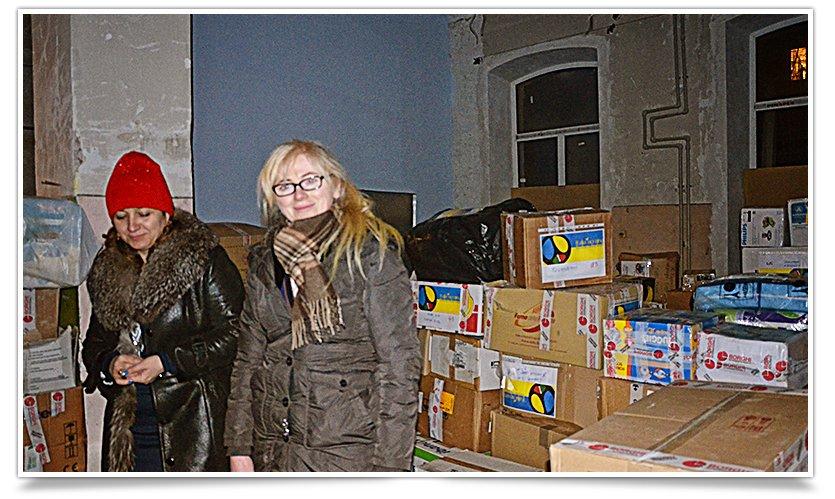Гумонитарная помощь переселенцам в Славянске отгружена и находится на складе (фото) - фото 3