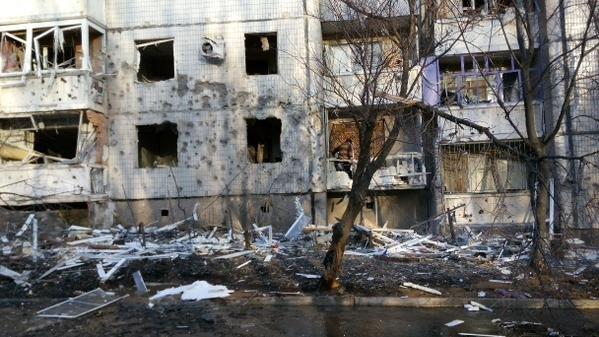 В Донецке снаряд попал в цех завода «Геркулес» - в результате ночного артобстрела пострадали десятки домов (ФОТО), фото-2
