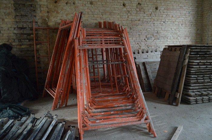 Фоторепортаж: к декабрю 2015 года закончится реконструкция Дома Заменгофа, фото-5