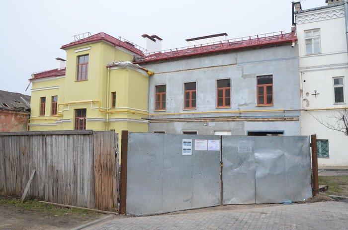 Фоторепортаж: к декабрю 2015 года закончится реконструкция Дома Заменгофа, фото-2