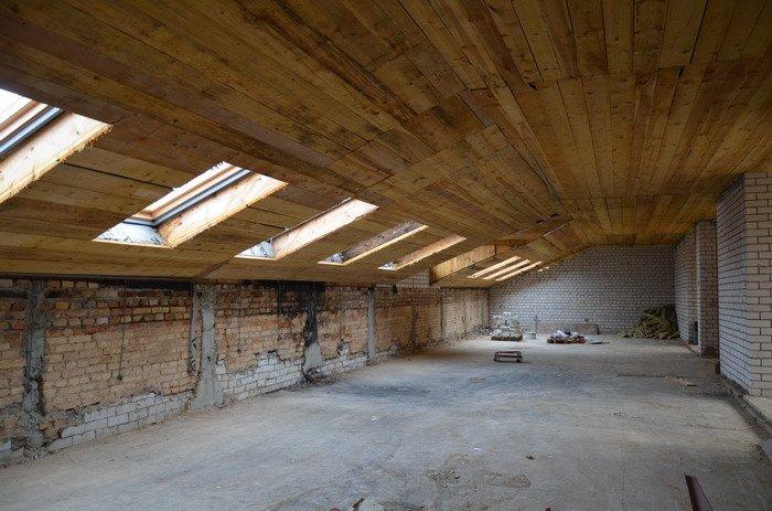 Фоторепортаж: к декабрю 2015 года закончится реконструкция Дома Заменгофа, фото-17