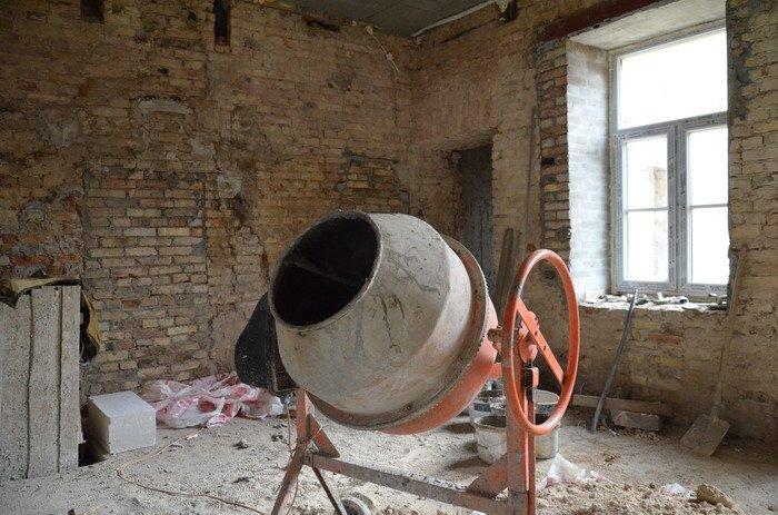 Фоторепортаж: к декабрю 2015 года закончится реконструкция Дома Заменгофа, фото-6