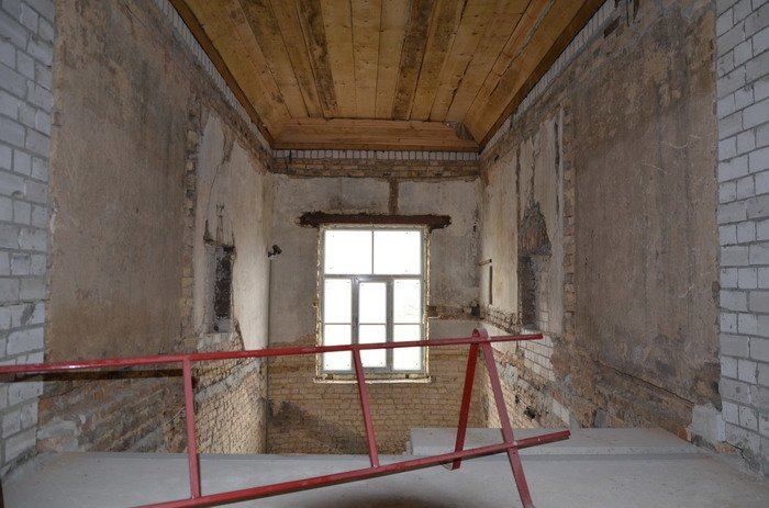 Фоторепортаж: к декабрю 2015 года закончится реконструкция Дома Заменгофа, фото-12