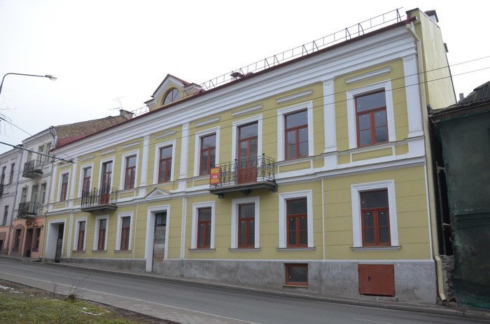 Фоторепортаж: к декабрю 2015 года закончится реконструкция Дома Заменгофа, фото-1