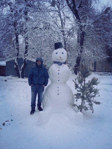 В Киеве поселились снеговики-патриоты (ФОТО) (фото) - фото 8