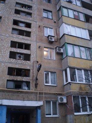 Ночной обстрел в Макеевке: фото (фото) - фото 1