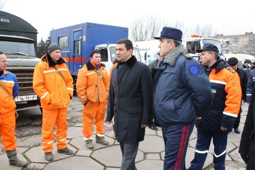 В Запорожье проверили готовность областной мобильной группы реагирования (ФОТО) (фото) - фото 1