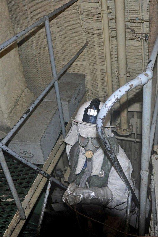 В Одессе военные учились тушить боевые корабли (ФОТО) (фото) - фото 2
