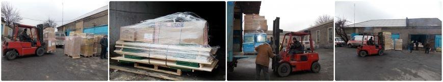 Добропольская гор. больница  получила гуманитарную помощь (фото) (фото) - фото 2