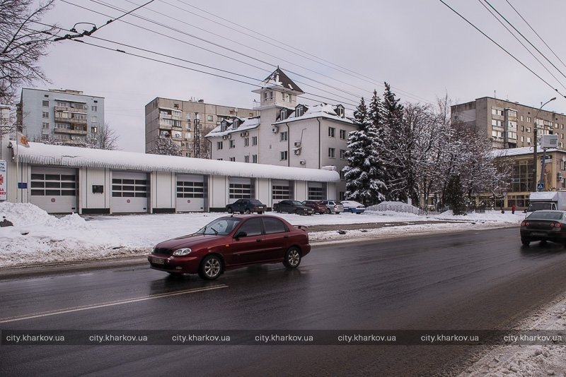 Как харьковские коммунальщики город от снега очищали (ФОТО) (фото) - фото 1