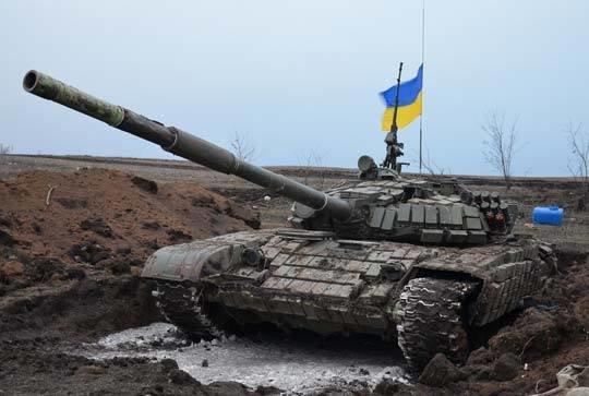 Бойцы АТО угнали у боевиков российский танк (ФОТО), фото-1
