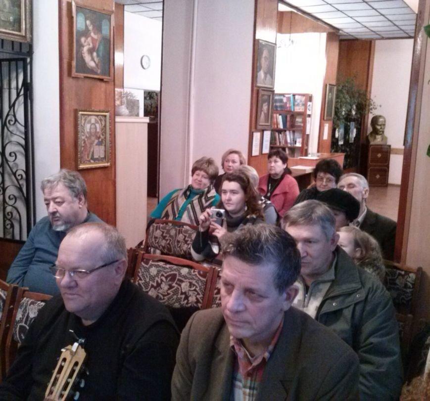 В Днепродзержинске прошла творческая встреча с поэтом Дмитрием Тарнопольским, фото-2