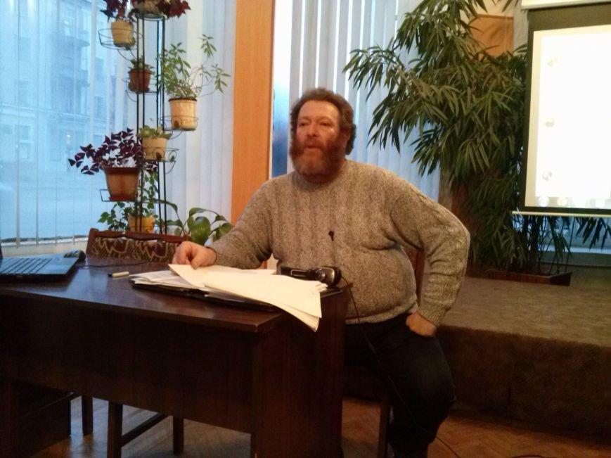 В Днепродзержинске прошла творческая встреча с поэтом Дмитрием Тарнопольским, фото-1