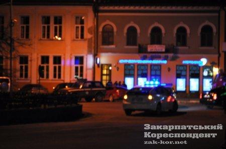 У центрі Ужгорода була загроза замінування (ФОТО), фото-1