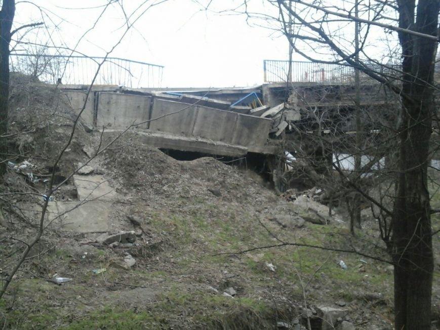 ЧП в Кривом Роге: упали конструкции моста, с которого ранее улетел BMW  с тремя детьми и ушел под лед (ФОТО), фото-9