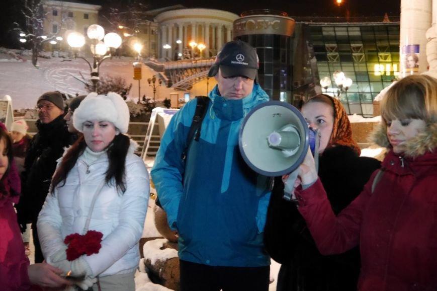 На Майдане Независимости почтили память «личного врага Путина» Исы Мунаева (ФОТО) (фото) - фото 1