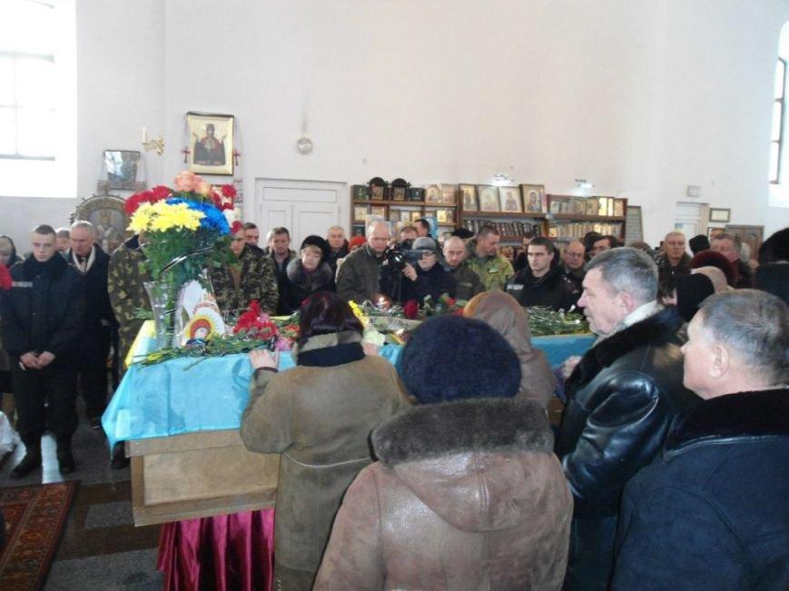 Перепоховали полтавця, який загинув у Іловайському котлі (ФОТО, ВІДЕО) (фото) - фото 1