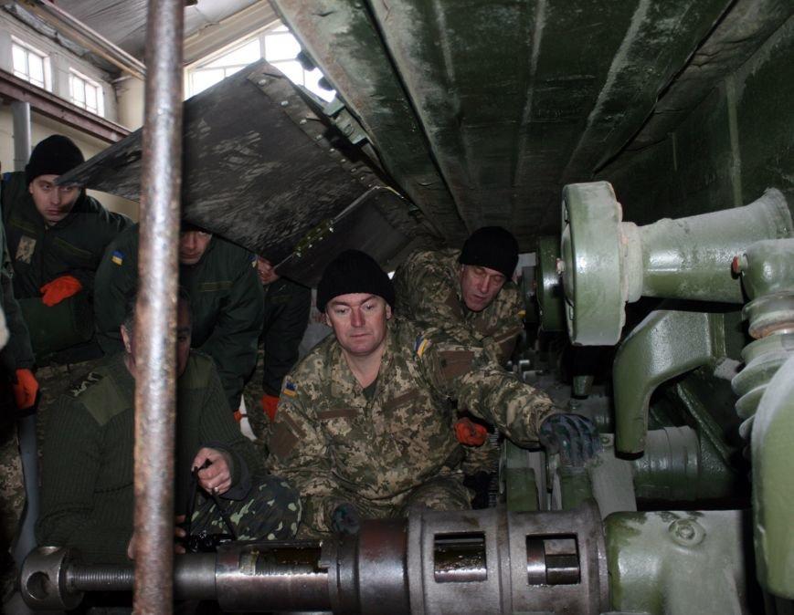 Харьковские бойцы делятся опытом участия в АТО с мобилизованными офицерами (фото), фото-2