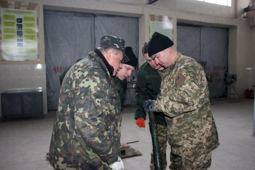 Харьковские бойцы делятся опытом участия в АТО с мобилизованными офицерами (фото), фото-4