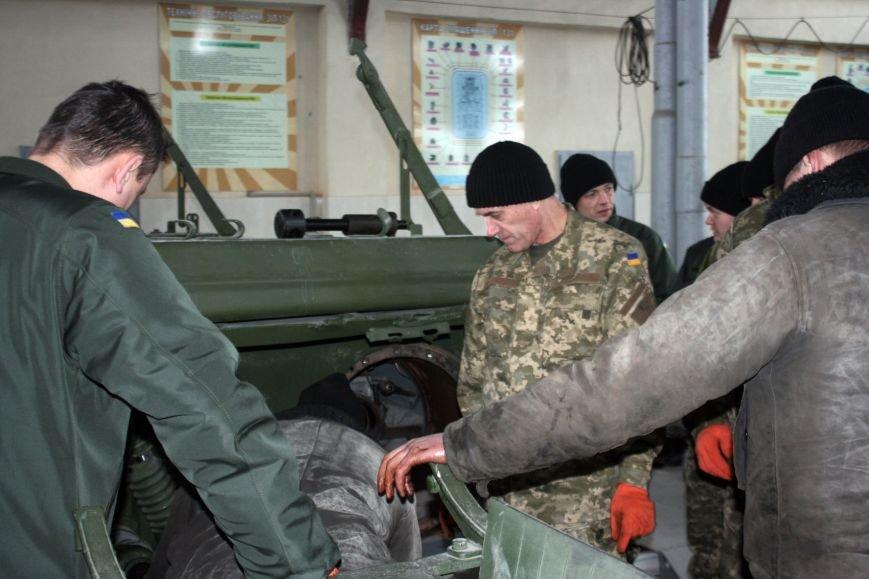Харьковские бойцы делятся опытом участия в АТО с мобилизованными офицерами (фото), фото-5