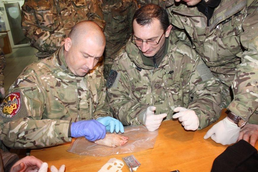 Польские военные специалисты обучили бойцов спецбатальона «Кривбасс» тактической медицине (ФОТО), фото-12