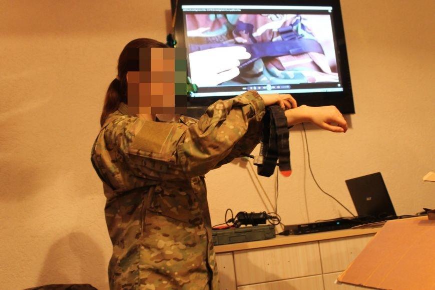 Польские военные специалисты обучили бойцов спецбатальона «Кривбасс» тактической медицине (ФОТО) (фото) - фото 1
