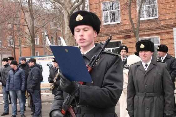 В Одесской военной академии присягнули Родине военные моряки (ФОТО) (фото) - фото 2