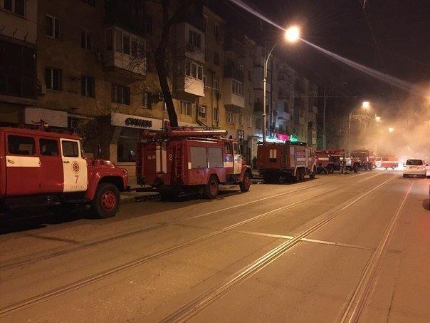 В центре Одессы во время пожара погибли два человека (фото) - фото 1