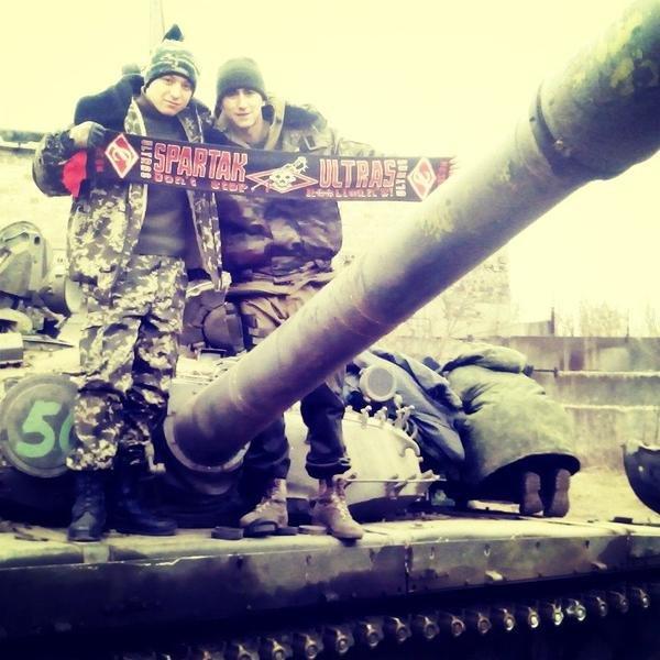 «Донецкие шахтеры» всегда болели за московский «Спартак» (ФОТО) (фото) - фото 1