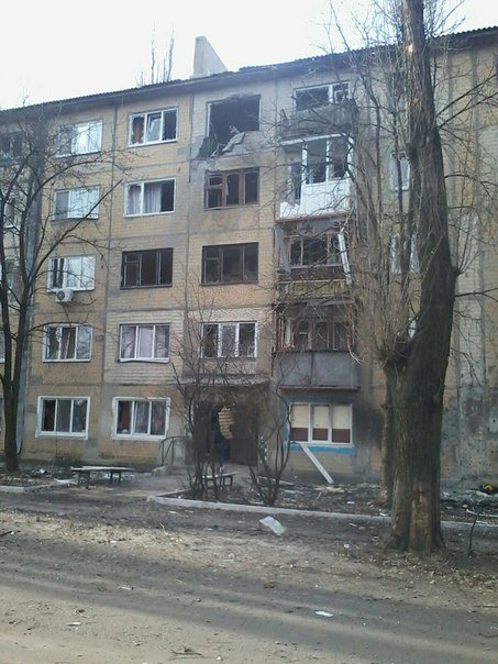 Массированный обстрел Авдеевки в выходные дни (фотофакт), фото-1