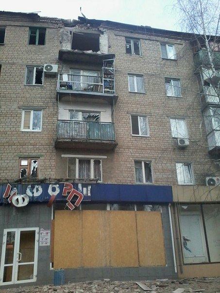 Массированный обстрел Авдеевки в выходные дни (фотофакт) (фото) - фото 3