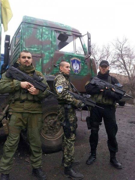 Тернопільські бійці в батальйоні