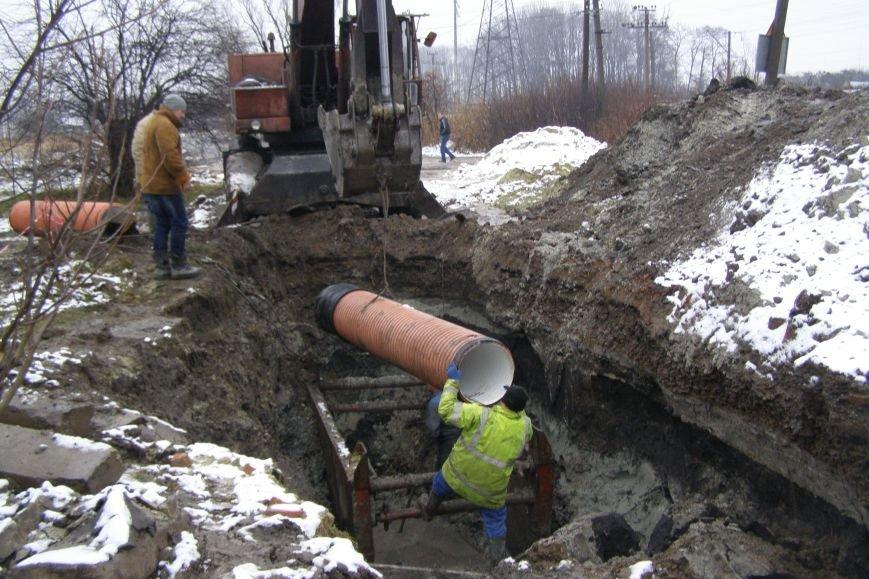 Кінець смороду: ремонт Винниківського колектору планують завершити у травні (ФОТО) (фото) - фото 1