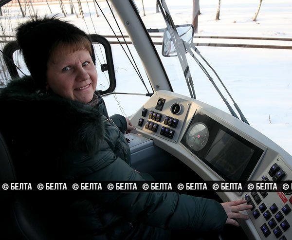 Экспериментальный суперсовременный трамвай вышел на линию в Новополоцке, фото-5