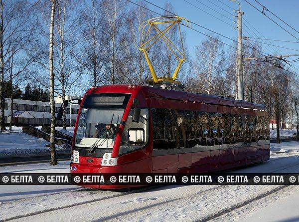 Экспериментальный суперсовременный трамвай вышел на линию в Новополоцке, фото-3