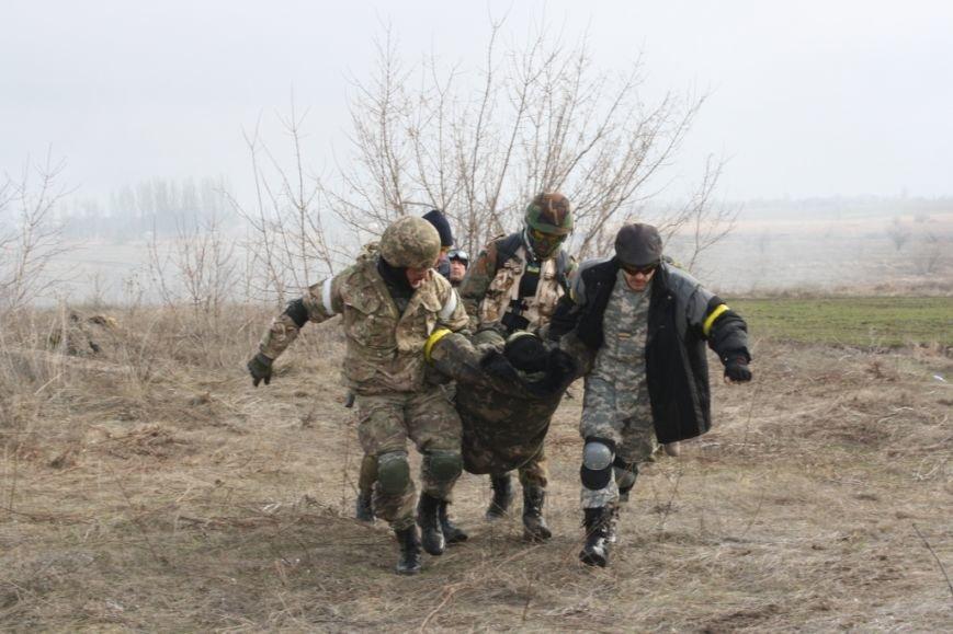ФОТОРЕПОРТАЖ: запорожские спасатели прошли учения оказания помощи по стандартам НАТО (фото) - фото 2