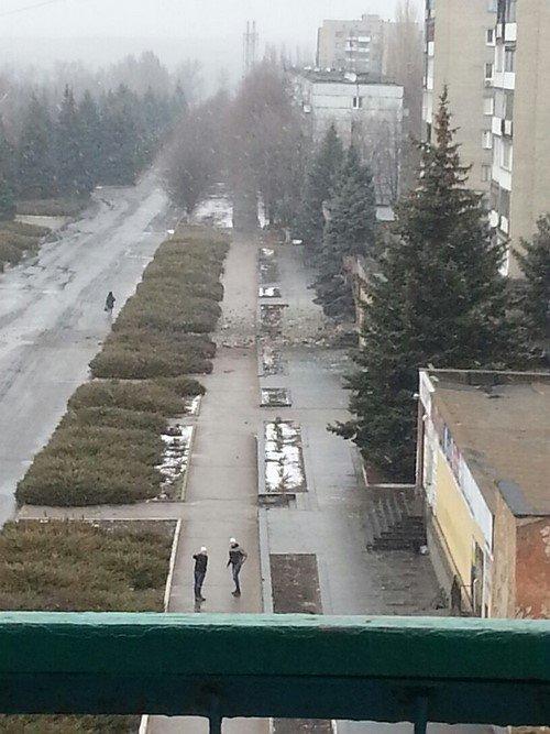 Боевики из «Градов» снова обстреляли город в Донецкой области (ФОТО) (фото) - фото 2