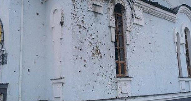 В Авдеевке под обстрел попал храм святой Марии Магдалины (ФОТО) (фото) - фото 1