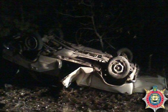 В ДТП в районе Мариуполя погиб водитель (ФОТО) (фото) - фото 1