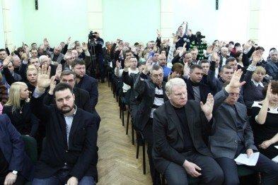 В Кривом Роге провели митинг, депутаты вошли в группу «Оппозиционный блок», открылась фотовыставка с работами «киборгов», фото-3