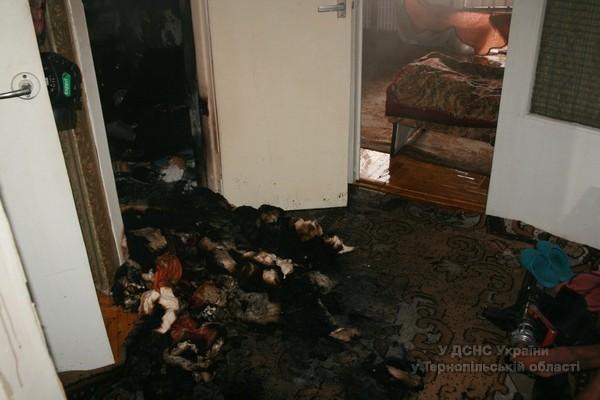 У Тернополі на вул. Дорошенка виникла пожежа у п'ятиповерховому будинку (ФОТО, ВІДЕО) (фото) - фото 1