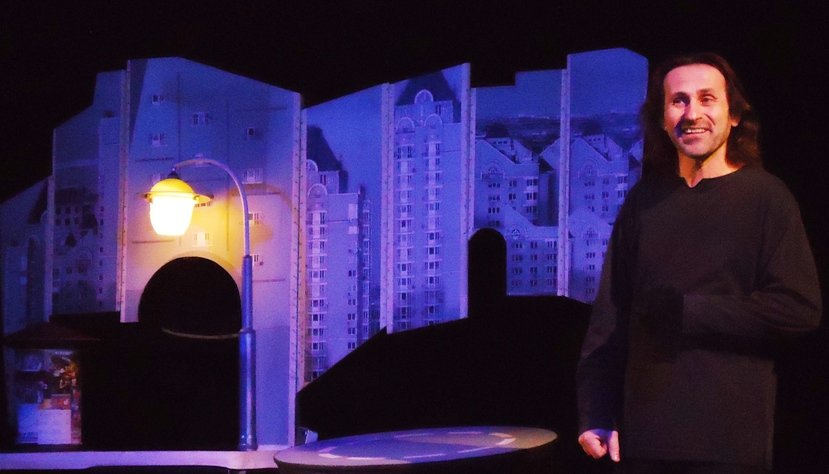 У Кіровограді відбулася творча зустріч з керівником і актором Київського приватного театру ляльок «Равлик» (фото) - фото 1