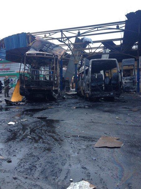 В Донецке обстреляна автостанция «Центр» и проходная ДМЗ - есть раненые и погибшие (ФОТО, ВИДЕО), фото-5