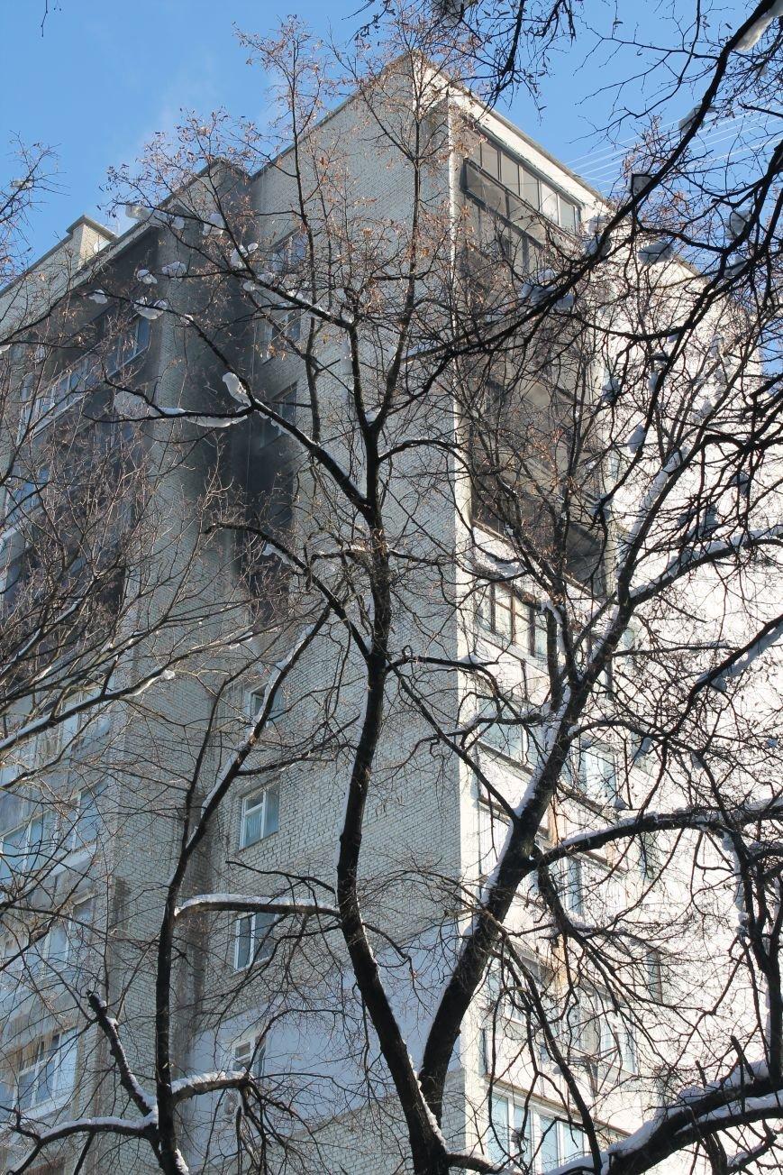 Сильный пожар в многоэтажке в центре Сум: 1 погибший, 5 пострадавших (ФОТО). ОБНОВЛЕНО, фото-3