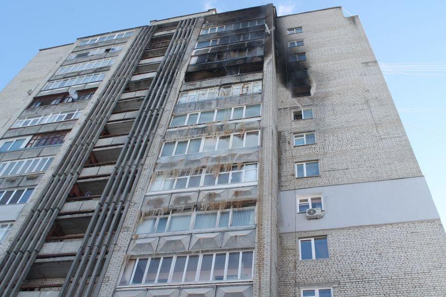 Сильный пожар в многоэтажке в центре Сум: 1 погибший, 5 пострадавших (ФОТО). ОБНОВЛЕНО, фото-5