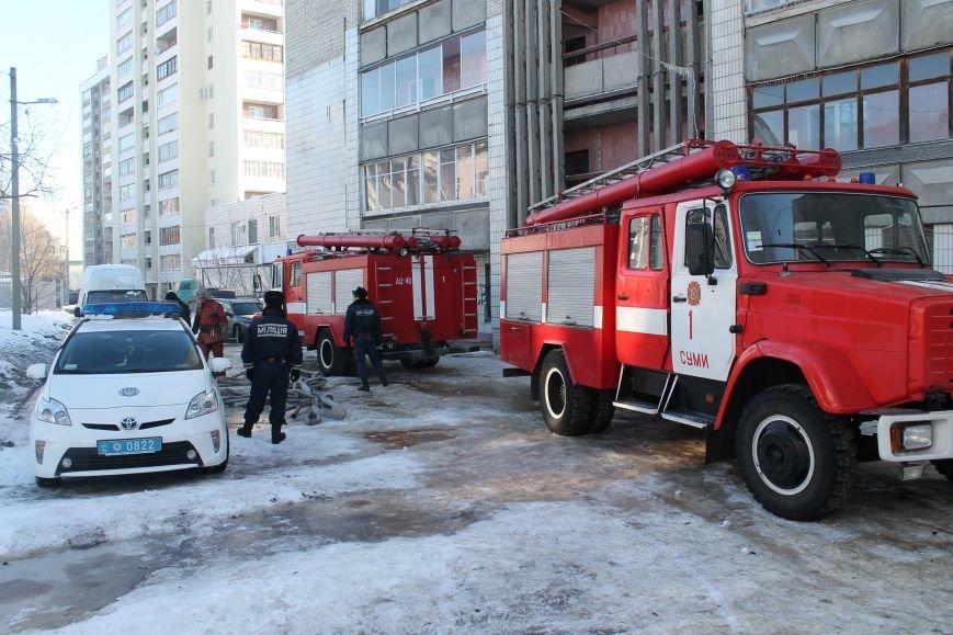 Сильный пожар в многоэтажке в центре Сум: 1 погибший, 5 пострадавших (ФОТО). ОБНОВЛЕНО, фото-6